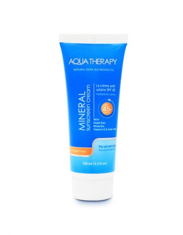 sunscreen hand cream